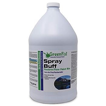 GreenFist Conditioned Hardwood Floor Liquid Wax