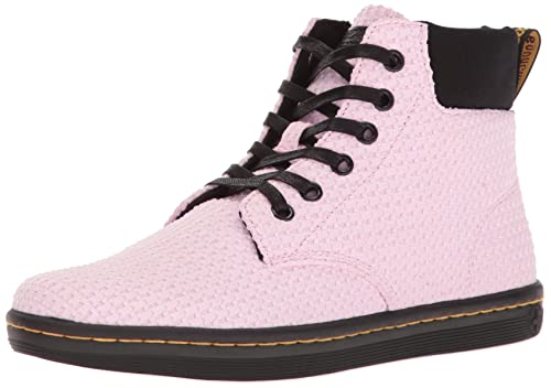 Dr. Martens Women's Maelly WC Boot, Bubble Gum+Black, 4 UK/6 M US