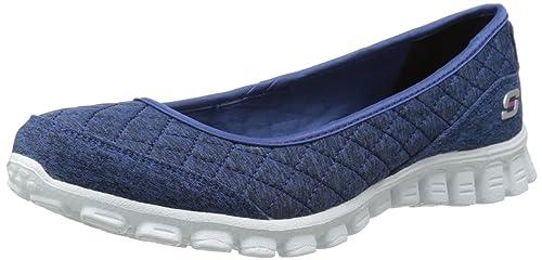 NEU SKECHERS DAMEN Sneakers WAVE LITE Schwarz Slipper Sommerschuhe