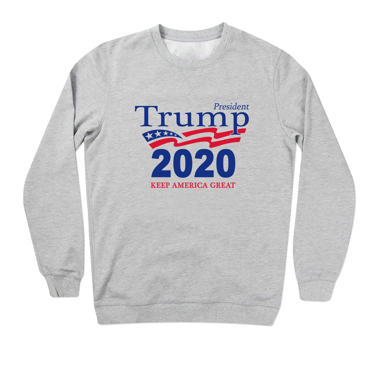 Friendly Bees Donald Trump 2020 Keep America Great 2 Unisex Sweater