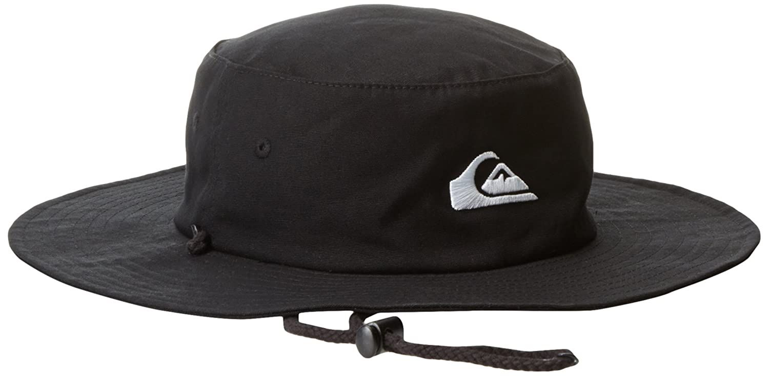 Quiksilver Men s Bushmaster Sun Protection Bucket Hat  Amazon.in  Clothing    Accessories 405fb39a791