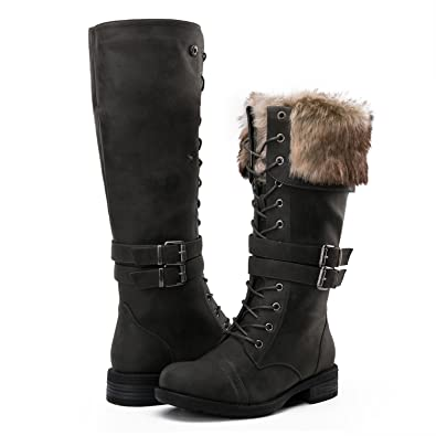 GLOBALWIN Women's Winter Fasion Ankle Boots