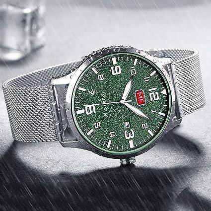 cbc9eefd42 Amazon.com: GUO XINFEN Watch - Men's Watch Waterproof Fashion Men's ...