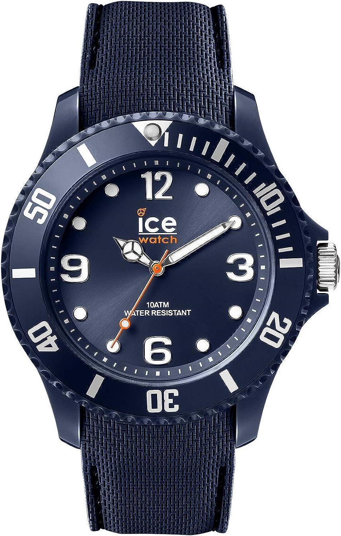 Ice-Watch - Ice Sixty Nine Dark Blue - Reloj Azul para Hombre con Correa de Silicone