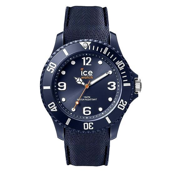 5055d6ad36 Ice-Watch - Ice Sixty Nine Dark Blue - Montre Bleue Mixte avec Bracelet en  Silicone - 007278 (Medium): Amazon.fr: Montres