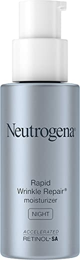 Neutrogena Rapid Wrinkle Repair Anti-Wrinkle Night Accelerated Retinol SA Facial Moisturizer