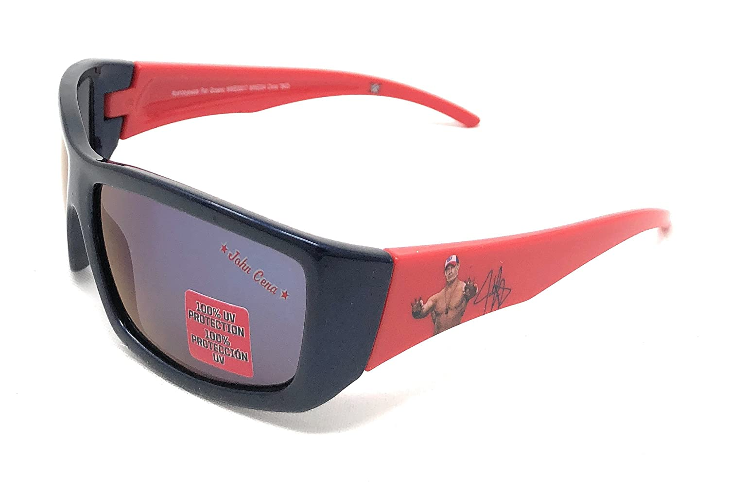WWE John Cena Boy's Sunglasses in Black and Red - 100% UV Protection
