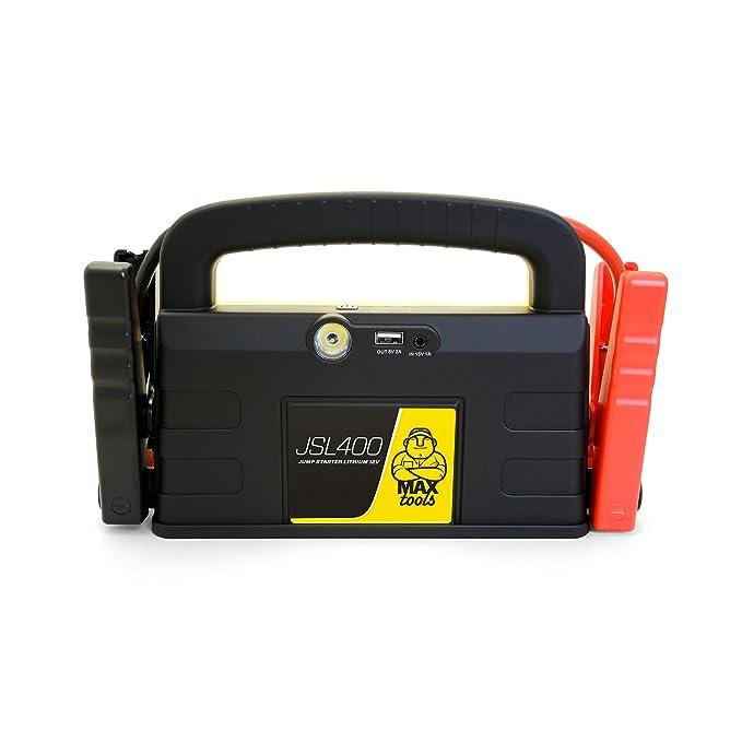 30 opinioni per MAXTOOLS JSL400 Avviatore di emergenza al litio, 12 V, 800 A