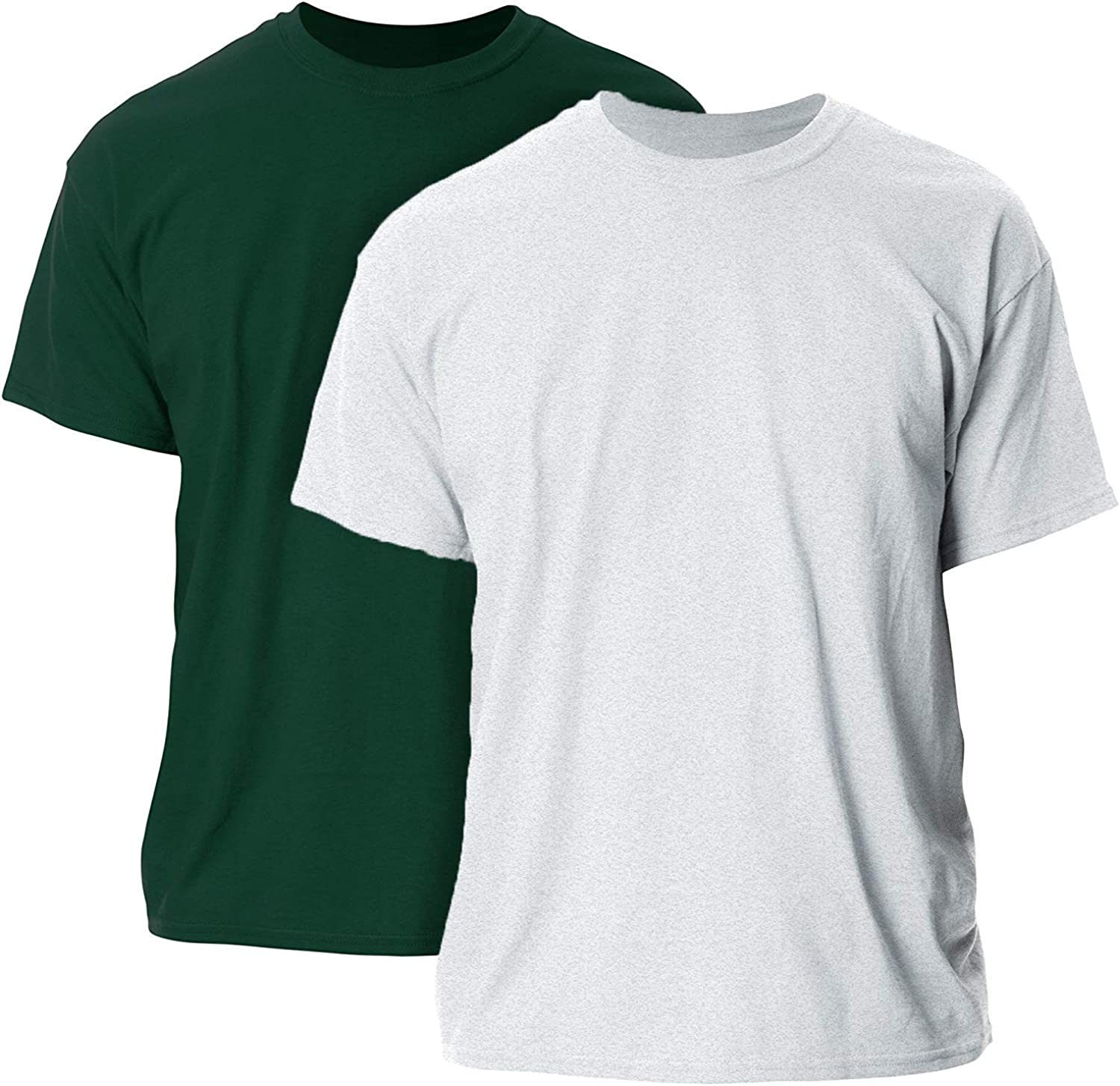2-Pack Gildan Mens G2000 Ultra Cotton Adult T-Shirt