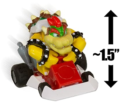 Amazon Com Bowser 1 5 Mario Kart Ds Mini Racer 04 Toys Games