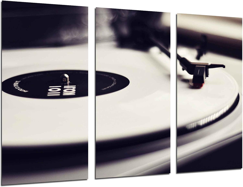 Poster Fotográfico Tocadiscos Vintage, Discos de Vinilo, Musica ...