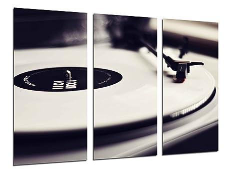 Poster Fotográfico Tocadiscos Vintage, Discos de Vinilo ...