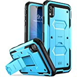 i-Blason Armorbox Series Case Designed for iPhone XR 2018 Release, [Built in Screen Protector] Full Body Heavy Duty Protectio