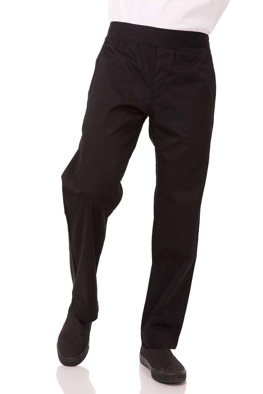 Chef Works Men's Lightweight Slim Pant