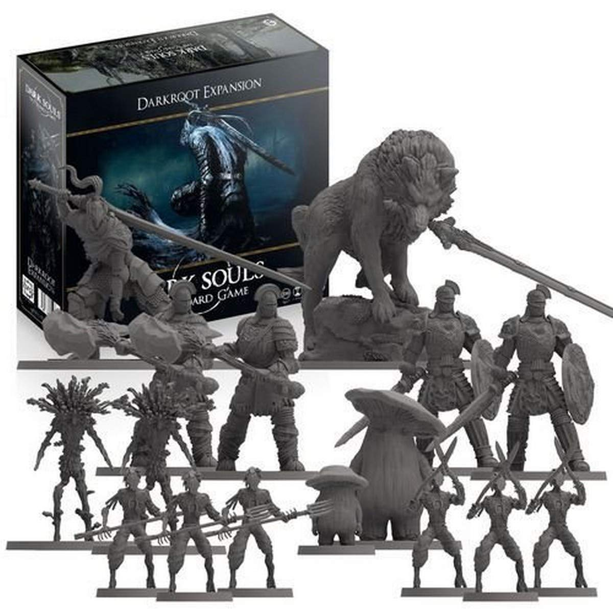 Steamforged Games Dark Souls: Darkroot Expansion, Multi-Colored