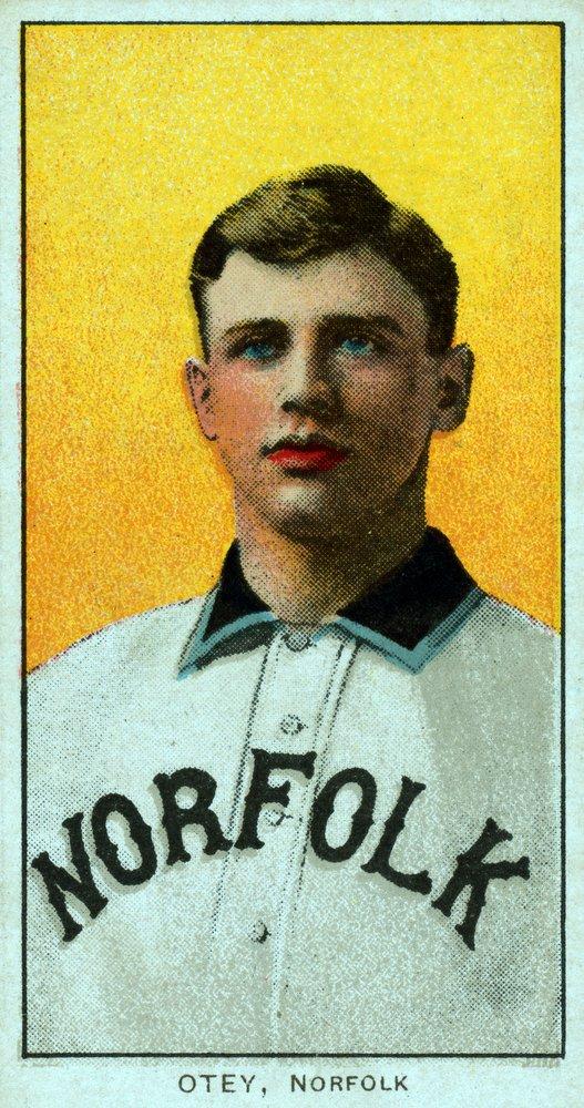 ノーフォークバージニアLeague – ウィリアムOtey – 野球カード 36 x 54 Giclee Print LANT-23460-36x54 B01MPVM9DV  36 x 54 Giclee Print