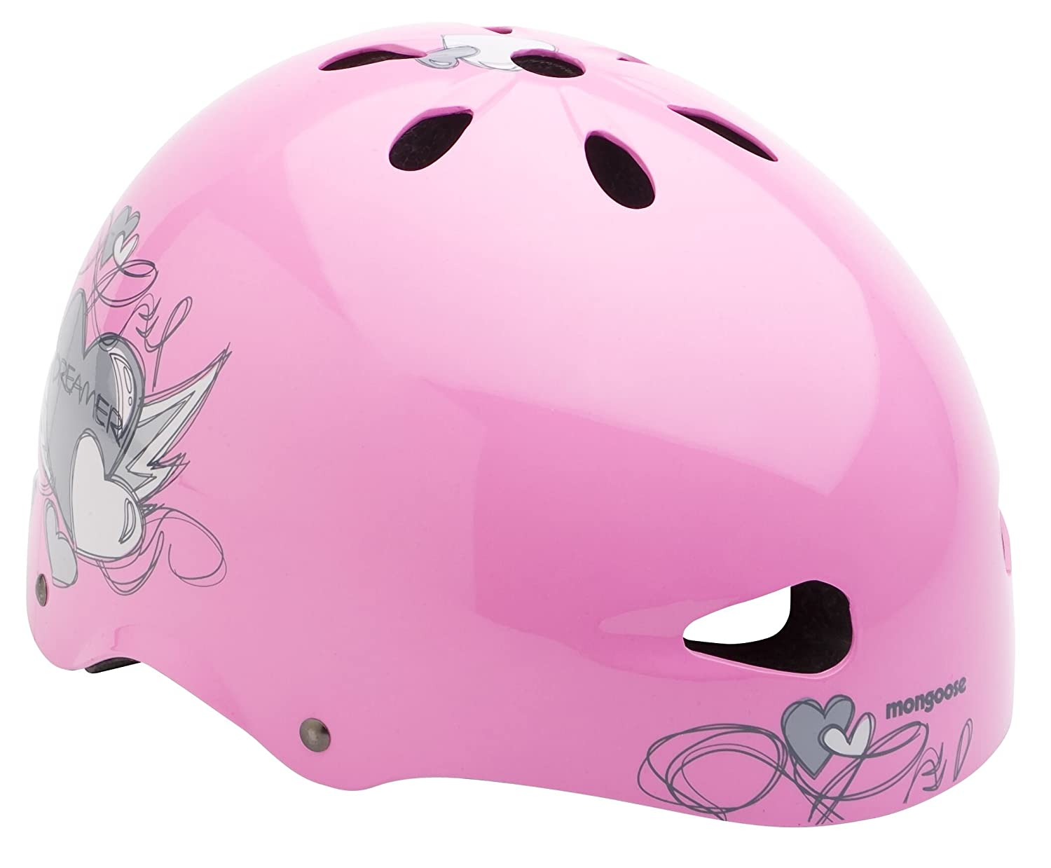 Pacific vélo fille Mongoose Coeur Youth Street Casque (Rose)   B004O0OIPU