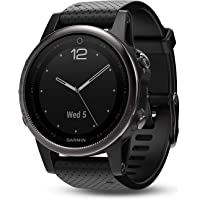Garmin Fenix 5S Multisport GPS Smartwatch (Black)