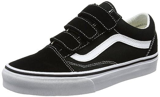 vans black and white mens