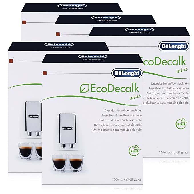 DeLonghi EcoDecalk Mini Bajo antical Pack 10 x 100 ml para ...
