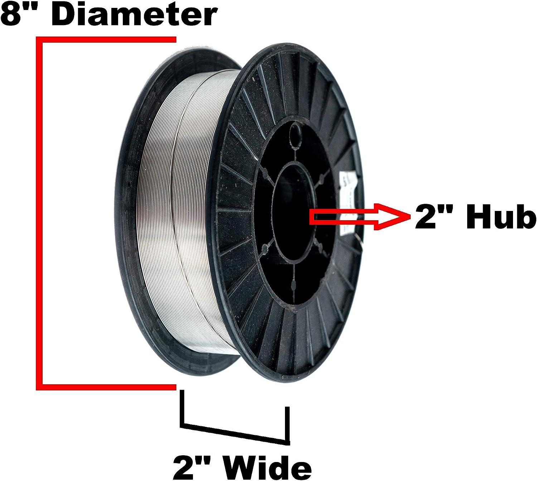10 Lbs Spool Gasless Flux Core Mild Steel MIG Welding Wire PGN 0.8 mm E71T-11 .030