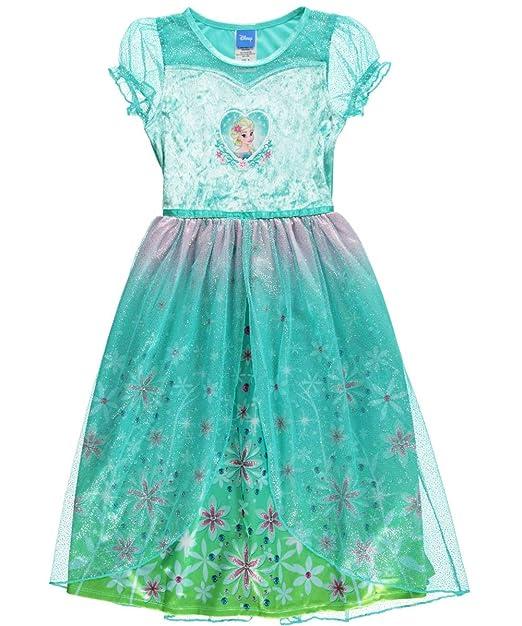 Amazon.com: Disney Little Girls Frozen Fever Elsa Fantasía ...
