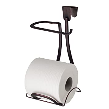 Amazoncom Interdesign Axis Over Tank Toilet Paper Holder 2 Roll