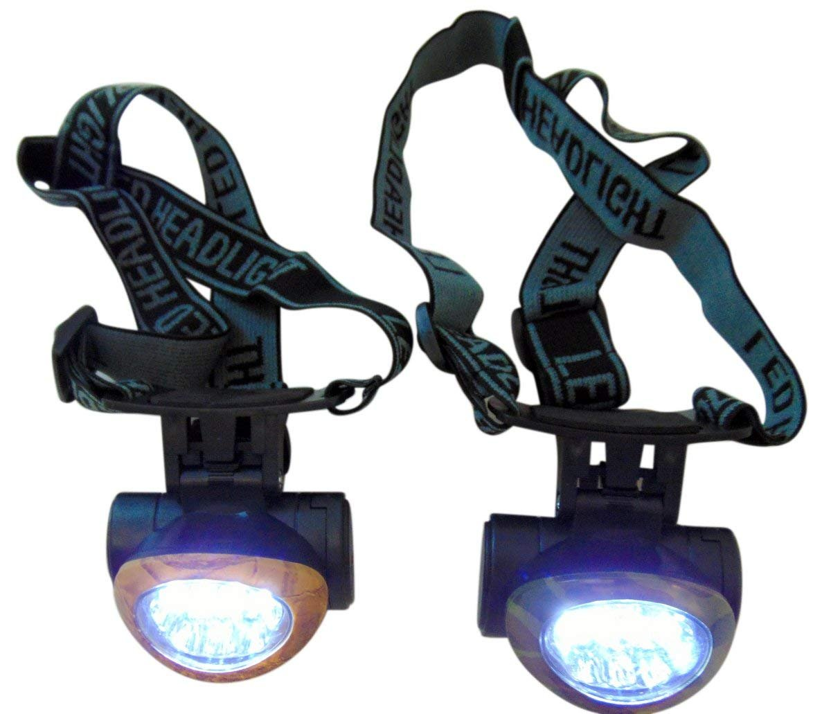 Personal Camoflage Headlight Headlamp for Running Hunting Working or Hunting Se