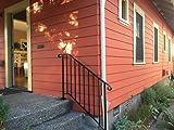 Iron X Handrail Picket #2