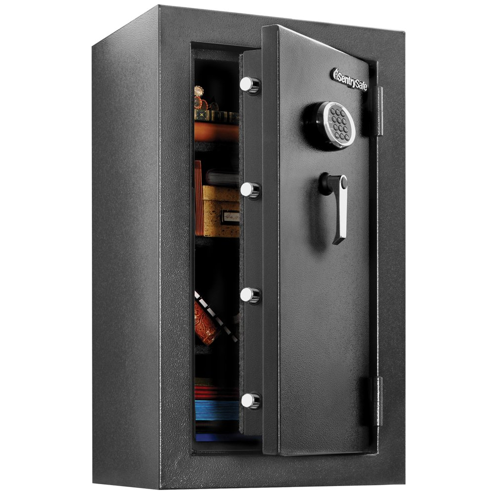 11. Sentry Safe Fire and Water Safe, XX-Large Fire Resistant Digital Safe, 4.7 Cubic Feet, EF4738E