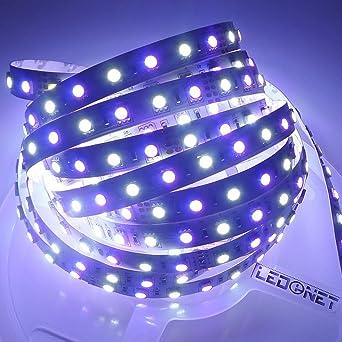 ledenet super bright rgbw led flexible strip lights 12v 5m 300 leds smd fairy tape