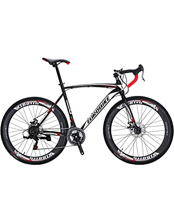 a263e77d43d Eurobike Bikes EURXC550 21 Speed Road Bike 700C Wheels Road Bicycle Dual  Disc Brake Bicycles