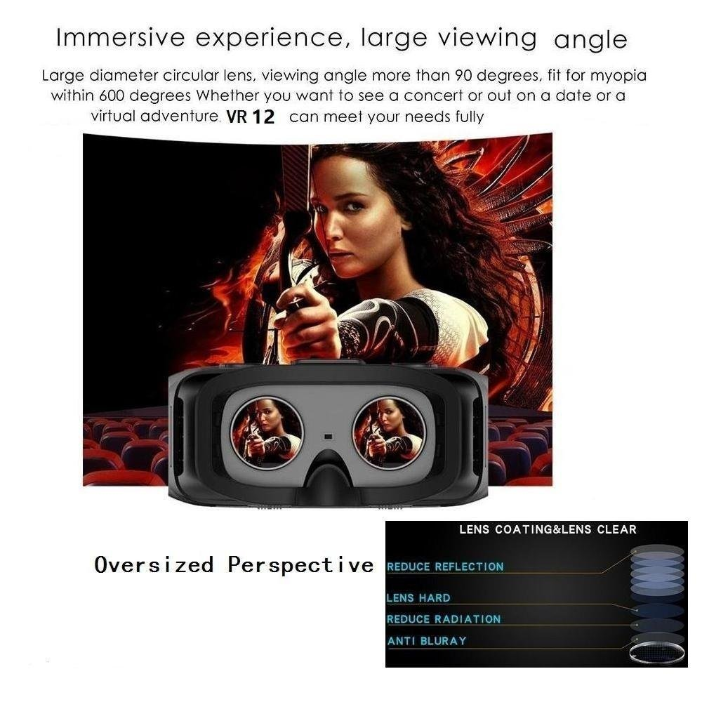 Komiro Caraok 3D VR Virtual Reality Box Headset All in One Machine Android OS with 5.5'' HD 1080P Sharp IPS Display Screen 360° Panorama ALLWINNER H8 Processor 2G Ram 16GB Rom (No Phone Needed) by Komire (Image #6)