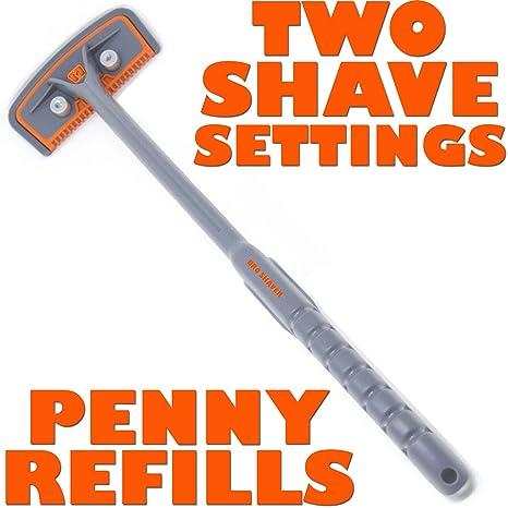 BRO SHAVER 2.2 Afeitadora de cabello, botón de afeitado y ...