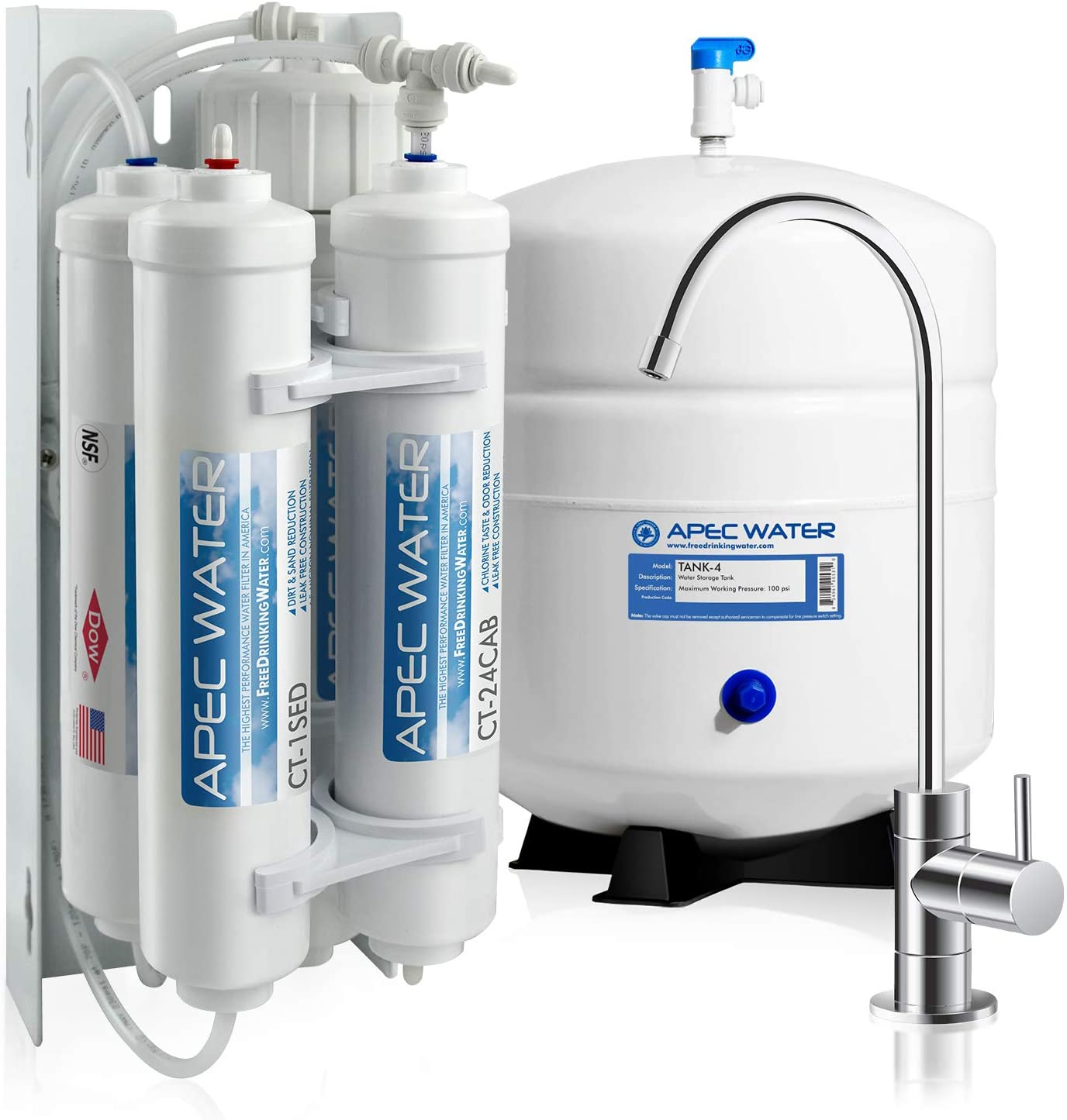 APEC Water RO-QUICK90 Reverse Osmosis System