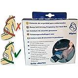 Cinturón para embarazada de seguridad en el coche que protege al bebé y la mamá evitando el riesgo de aborto - adaptador