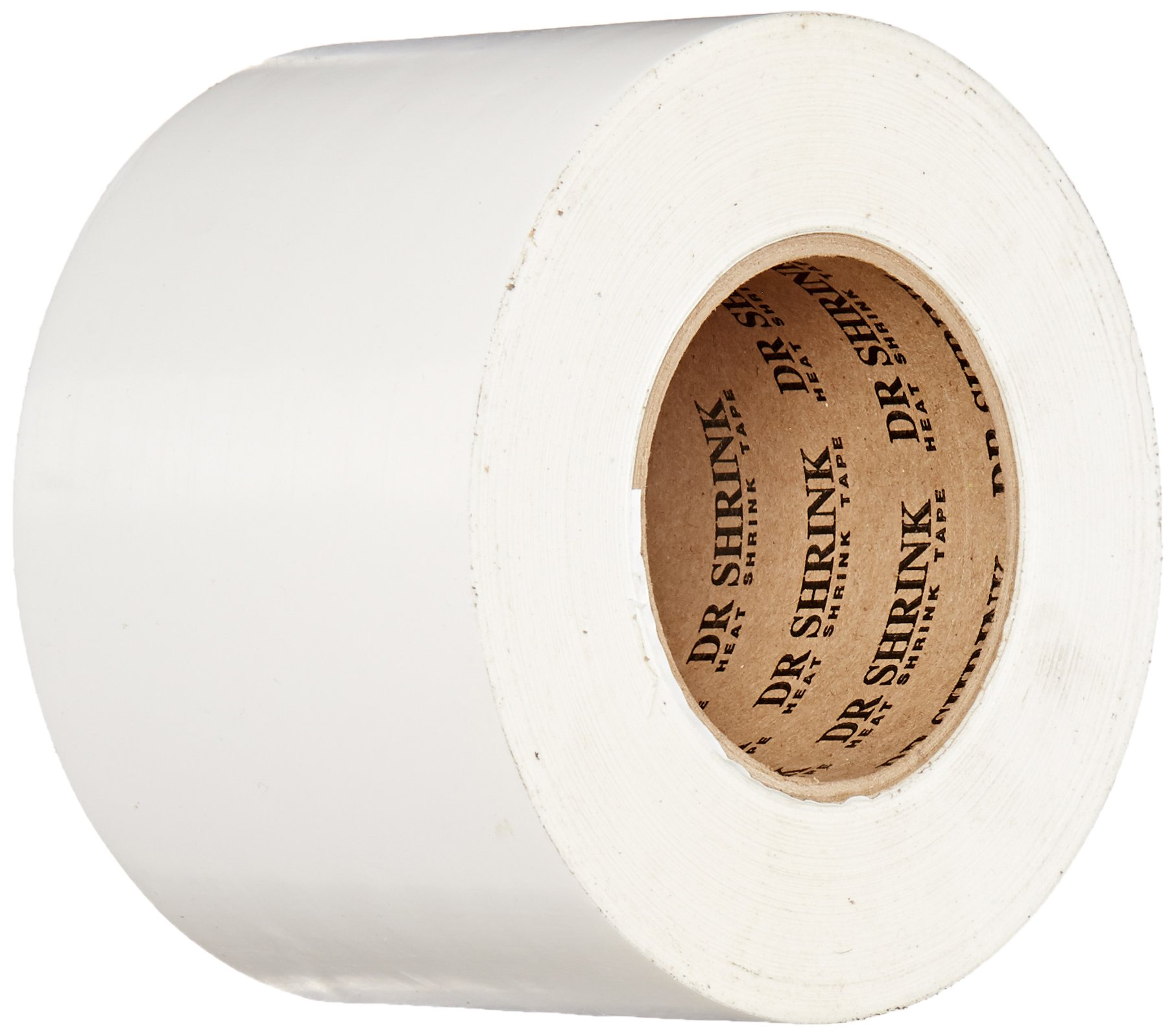 Dr. Shrink DS-704W White 4'' x 180' Shrink Tape