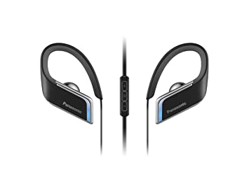 Panasonic RP-BTS50E-K - Auriculares (Binaurale, 3.5mm / USB, Gancho de Oreja, Bluetooth, Intraaural), Color Negro: Amazon.es: Electrónica