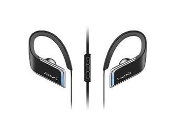 Panasonic RP-BTS50E-K - Auriculares (Binaurale, 3.5mm / USB, Gancho de Oreja, Bluetooth, Intraaural), Color Negro: Amazon.es: Electrónica