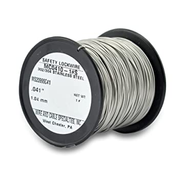 Amazon.com: Wire and Cable Specialties MC0410-1#S .041\