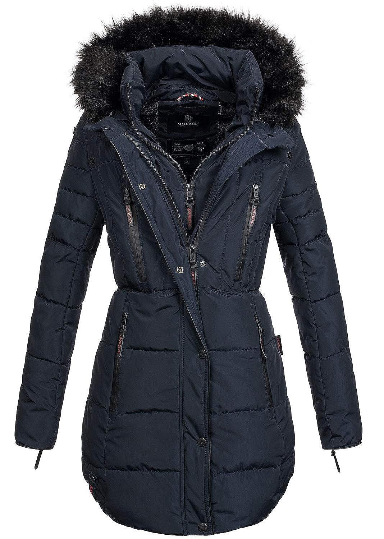 B401 Winter Mantel Parka Damen Lang Jacke Stepp Warme Marikoo Winterjacke XwPO8k0n