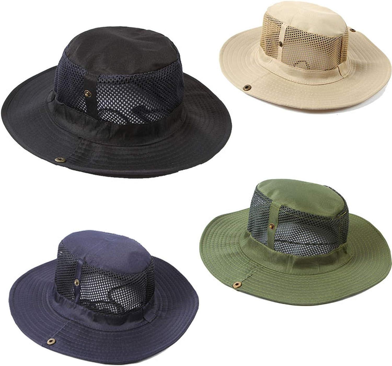 Men Outdoor Camping Fishing Cap Sun Protection Hat Wide Brim Hats for Women hat Summer