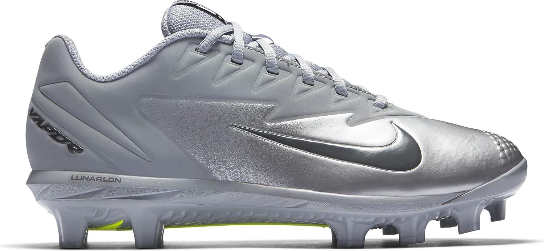 NIKE Men's Vapor Ultrafly Pro MCS Baseball Cleat B01DL2DJQK 10 D(M) US|Wolf Grey/Dark Grey/Metallic Silver