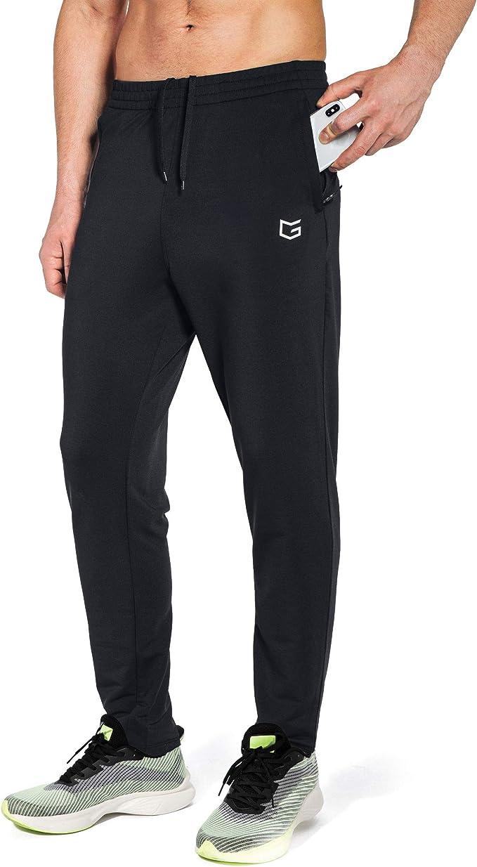 G Gradual Men's Sweatpants with Zipper Pockets