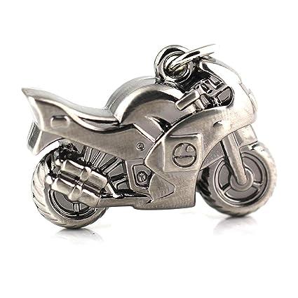 Maycom® - Llavero, diseño de casco de moto en 3 dimensiones Motorcycle small