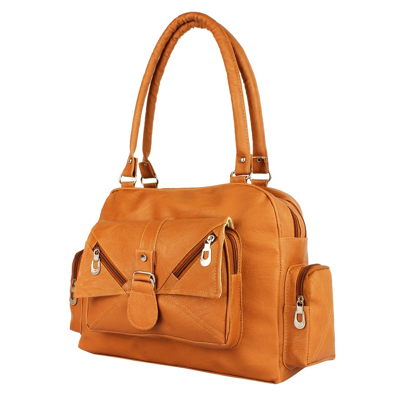 3a36532600 REYAZ JAIBUN TAN SHOULDER BAG FOR WOMEN  Amazon.in  Shoes   Handbags