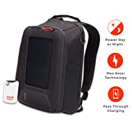 Voltaic Systems Converter Rapid Solar Backpack Charger | Includes a Battery Pack (Power Bank) and 2 Year Warranty | Powers Phones Including Apple iPhone, Tablets, USB Devices, More