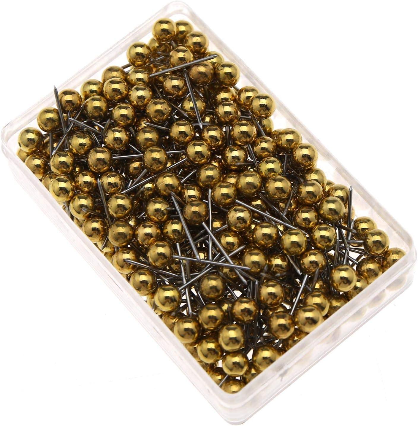 OTOTEC Lot de 1000 punaises Multicolores avec t/ête /à Perles pour Tableau daffichage