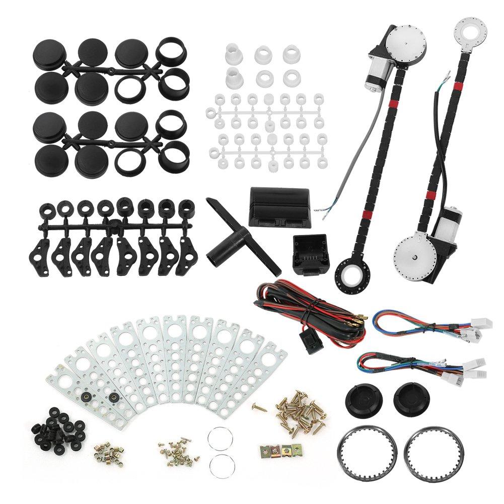 Amazon power window kit motors automotive universal fandeluxe Images
