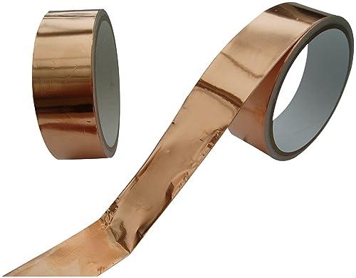 Slug repellent copper strip